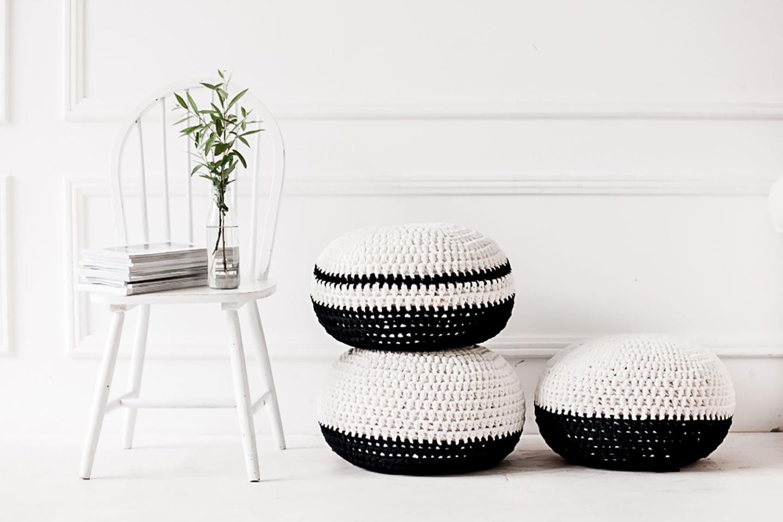 Black and White - Deko-Inspirationen für dein Boho-Wohnzimmer