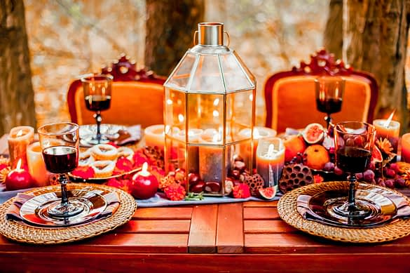 Thanksgiving - Die passende Deko für dein perfektes Dinner.
