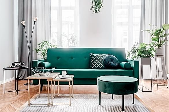 Green Velvet - Warum du jetzt unbedingt ein grünes Samtsofa brauchst.