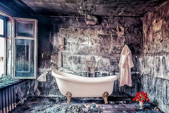 Freistehende Badewanne - genieße Luxus auf 4 Füßen